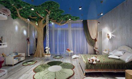 Idei creative despre amenajarea camerei copilului