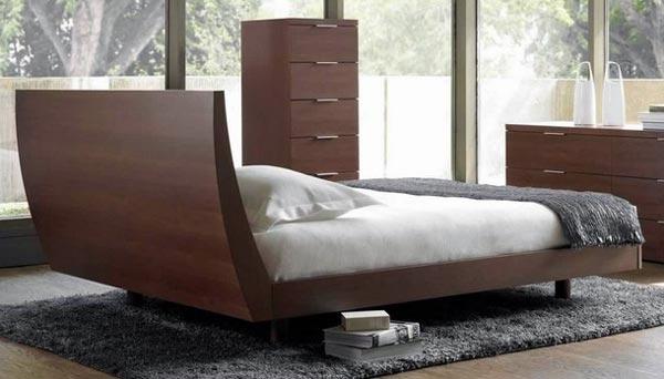 Mobila pentru dormitor in stil scandinav