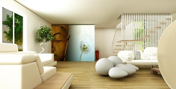 Mai multe idei de amenajare si decorare a casei in stil Zen