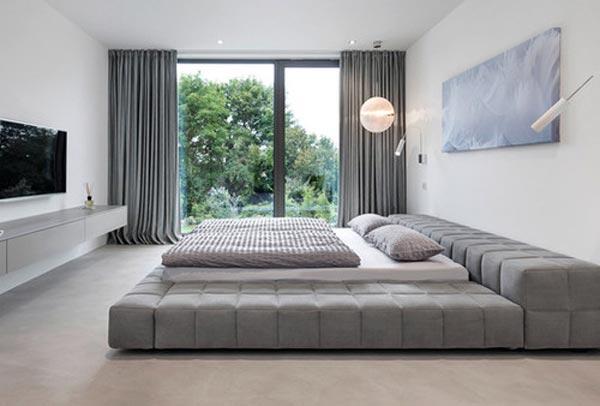 Ameanajarea Dormitorului - Dormitorul in stil modern