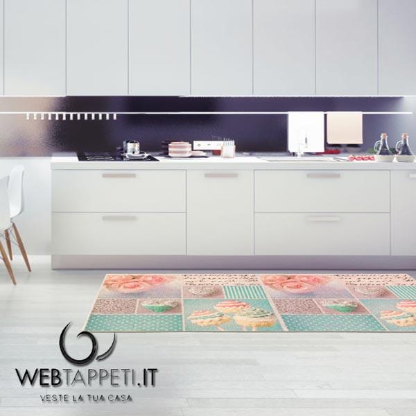 Covor pentru bucătărie Webtapetti Bluerose