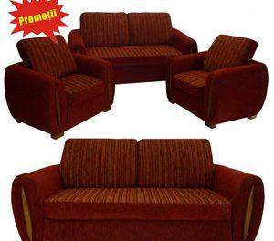 Seturile 3-1-1 Canapele extensibile Kring Gloria