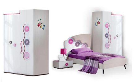 Set Mobilier Camera Copii Rengarenk Point Kids