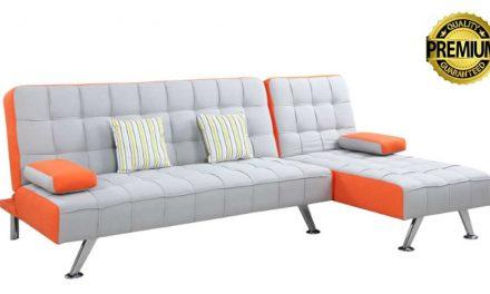 Kring Amelia, o canapea extensibila cu sezlong suplimentar