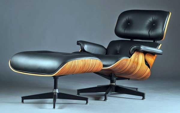 Fotoliul Eames Lounge Chair, cea mai celebră creaţie semnată Ray şi Charles Eames