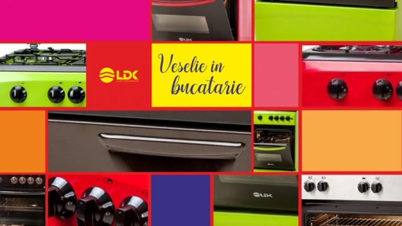 Bucatarie in culori cu Electrocasnicele LDK