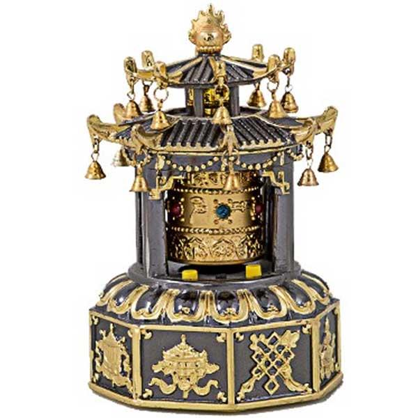 Pagoda cu morisca dorintelor maro