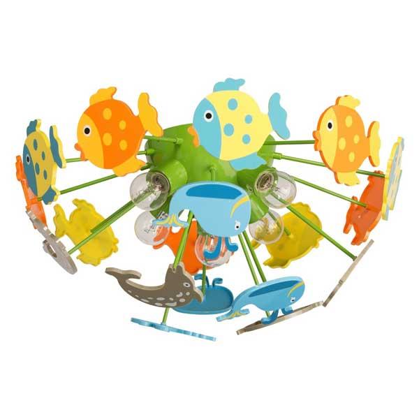 Plafoniera Kinder Multicolor 365014605