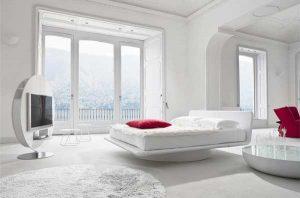 Ce spune culoarea dormitorului tau despre tine Dormitor culoare alb