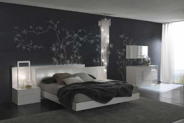 Ce spune culoarea dormitorului tau despre tine? Dormitor Gri