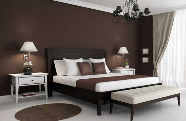 Ce spune culoarea dormitorului tau despre tine? Dormitor culoare maro