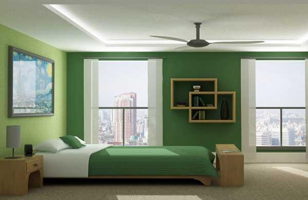 Ce spune culoarea dormitorului tau despre tine? Dormitor culoare verde