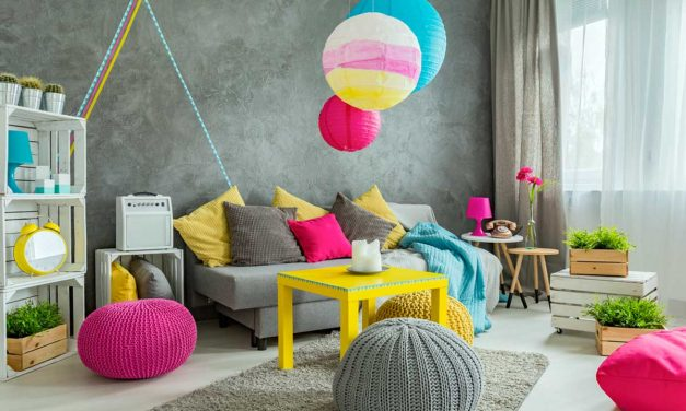 Culori aprinse in amenajarea locuintei – cum sa le integrezi armonios?