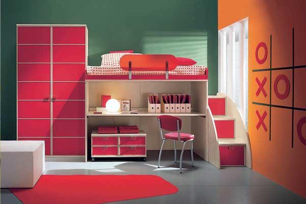 Idei de mobilier ergonomic pentru camera copilului