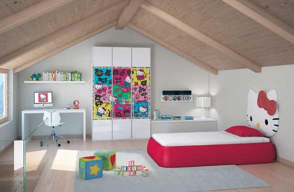 Idei decorare si mobilier pentru copii mici