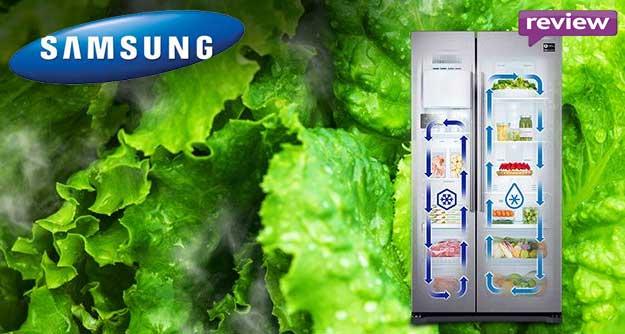 O combina frigorifica Side by Side de 569l mai ieftina, modelul Samsung RS57K4000SA/EF