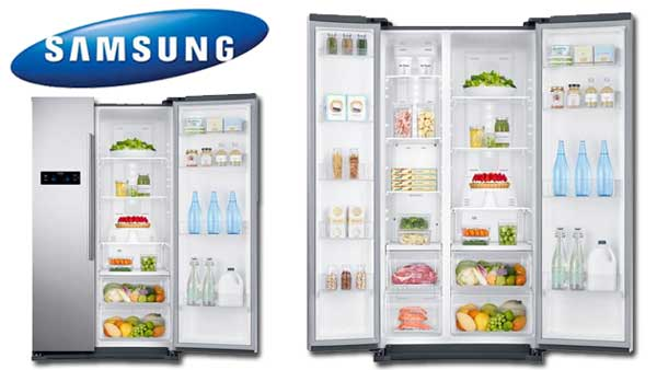 Side by side Samsung RS57K4000SAEF, 569 l, Clasa A+, H 178.9, Grafit metalizat