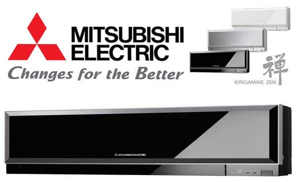 Aparat de aer conditionat Mitsubishi Electric Kirigamine Zen Black MSZ-EF35VE2B-MUZ-EF35VE Inverter 12000 BTU, Clasa A+++, Curatare rapida, Auto-diagnoza