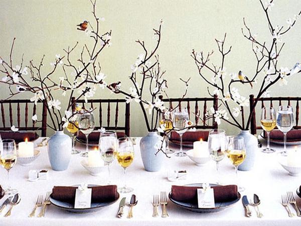 Idei pentru decorarea mesei de Craciun