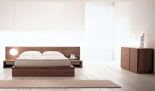 Alege mobilă în stil minimal, Zen cu aspect natural
