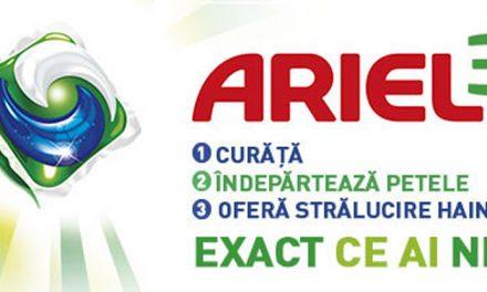 Impresii si pareri detergent capsule Ariel 3in1 PODS