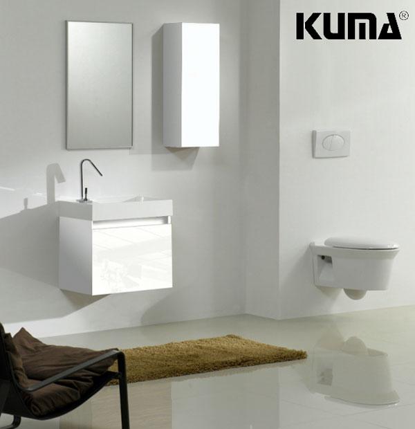 Mobilier de baie KUMA minimalism nordic