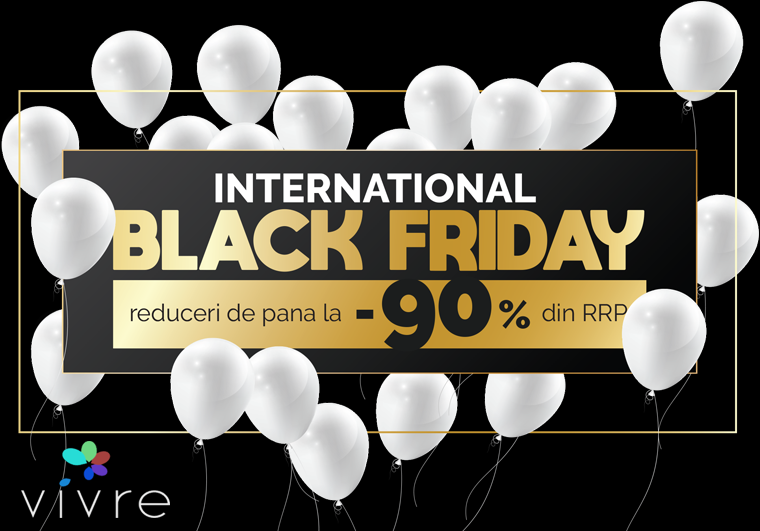 Reduceri Finale Vivre de Black Friday